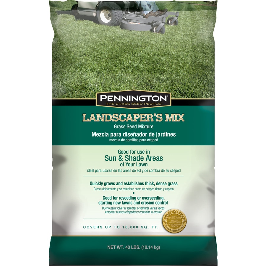 Pennington Landscapers Mix 40-lb  Sun & Shade Seed