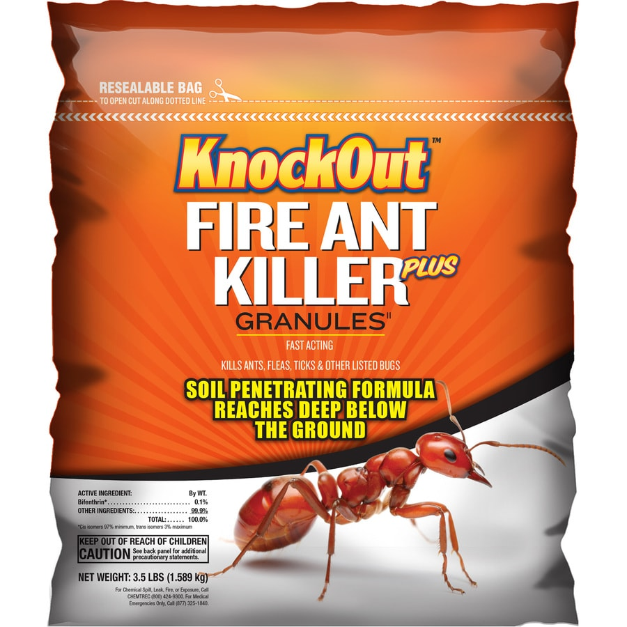 Knock Out Knock Out Killer Plus 2,900-sq ft Fire Ant Killer