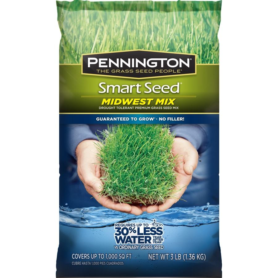 Pennington Smart Seed Midwest Mix 3-lb Sun and Shade Grass Seed