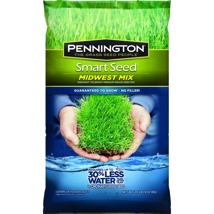 Pennington Smart Seed Midwest Mix 20-lb Sun and Shade Grass Seed