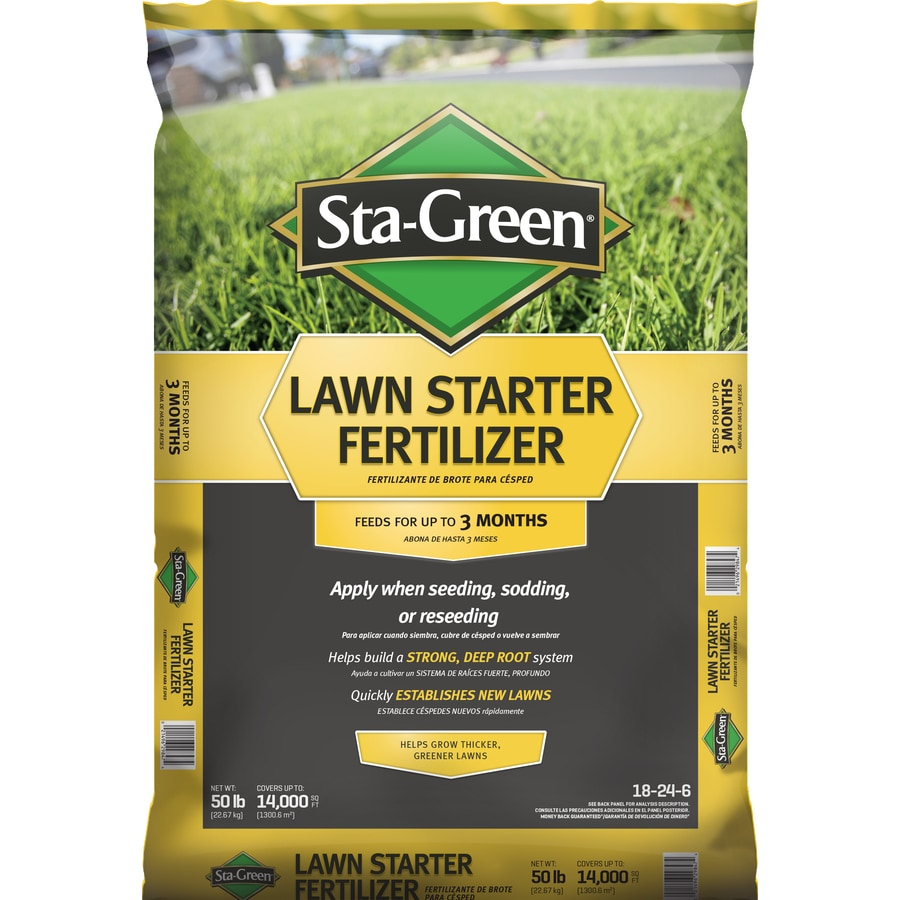 Sta-Green Lawn Starter 14000-sq Ft 18-24-6 At Lowes.com