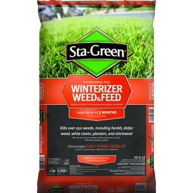 Sta-Green Winterizer Weed & Feed 5000-sq ft 26-0-12