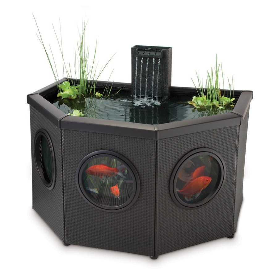Shop pennington pond and waterfall kit at for Pond waterfall kit