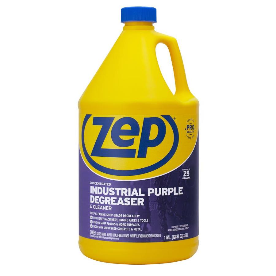 Shop zep commercial 128 oz degreaser at for Concrete floor degreaser