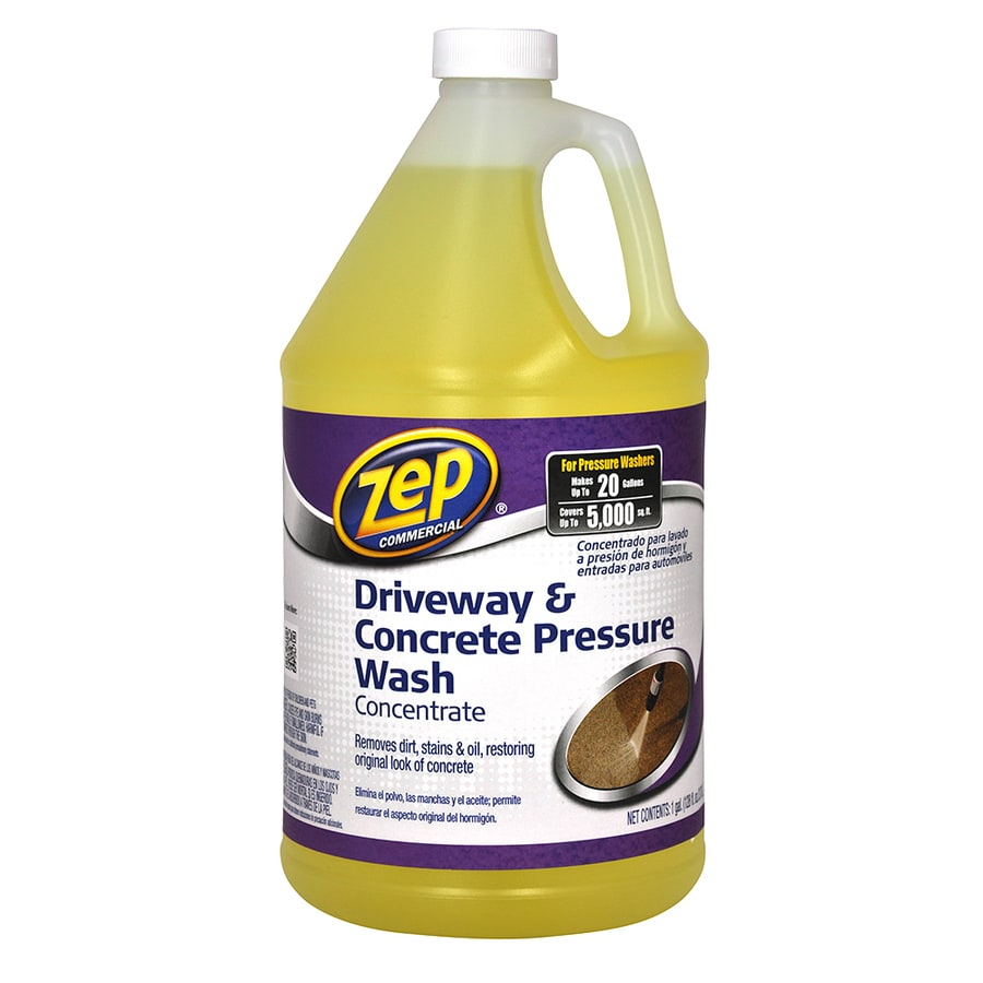 Zep Commercial Driveway and Concrete Pressure Washer Concentrate 128-oz
