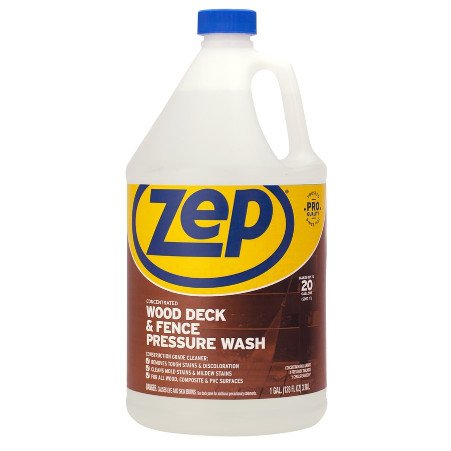 Zep Commercial 1-Gallon-Gallon Deck And Fence Pressure Washer Cleaner