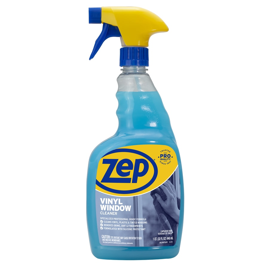 Shop Zep Commercial Vinyl Window 32 fl oz Glass Cleaner at ...