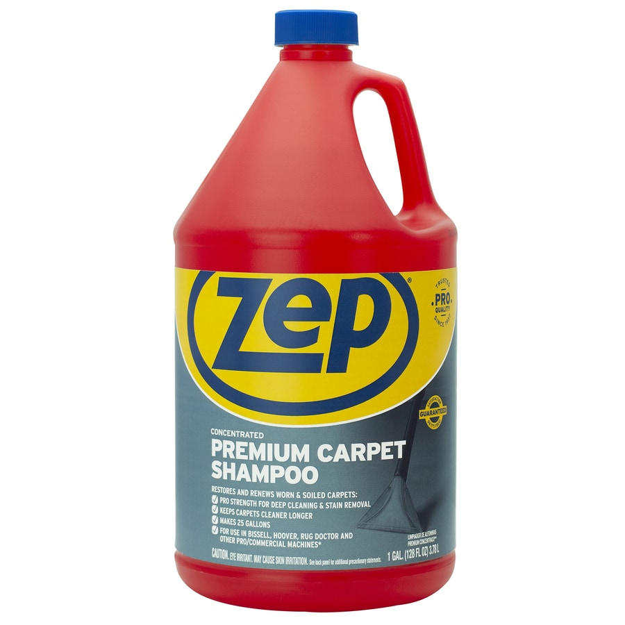 Shop Zep Commercial Premium Carpet Shampoo Concentrate 128 Oz Carpet Cleaner At Lowes Com