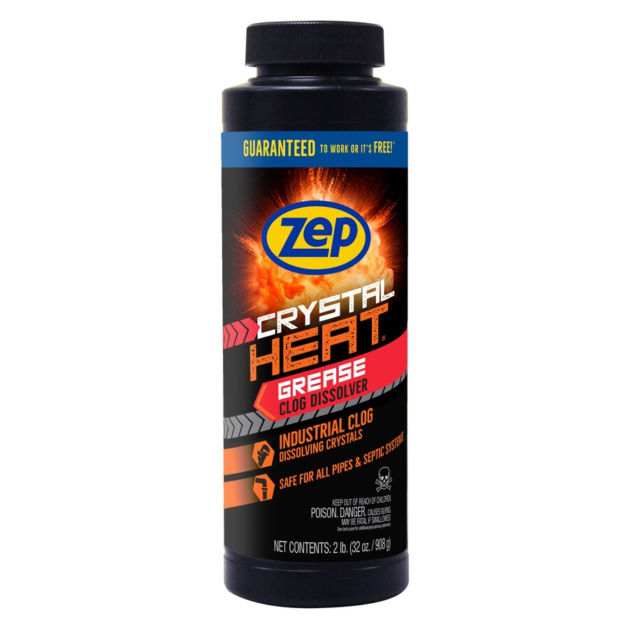 Shop Zep Commercial Crystal Heat 32 Oz Drain Cleaner
