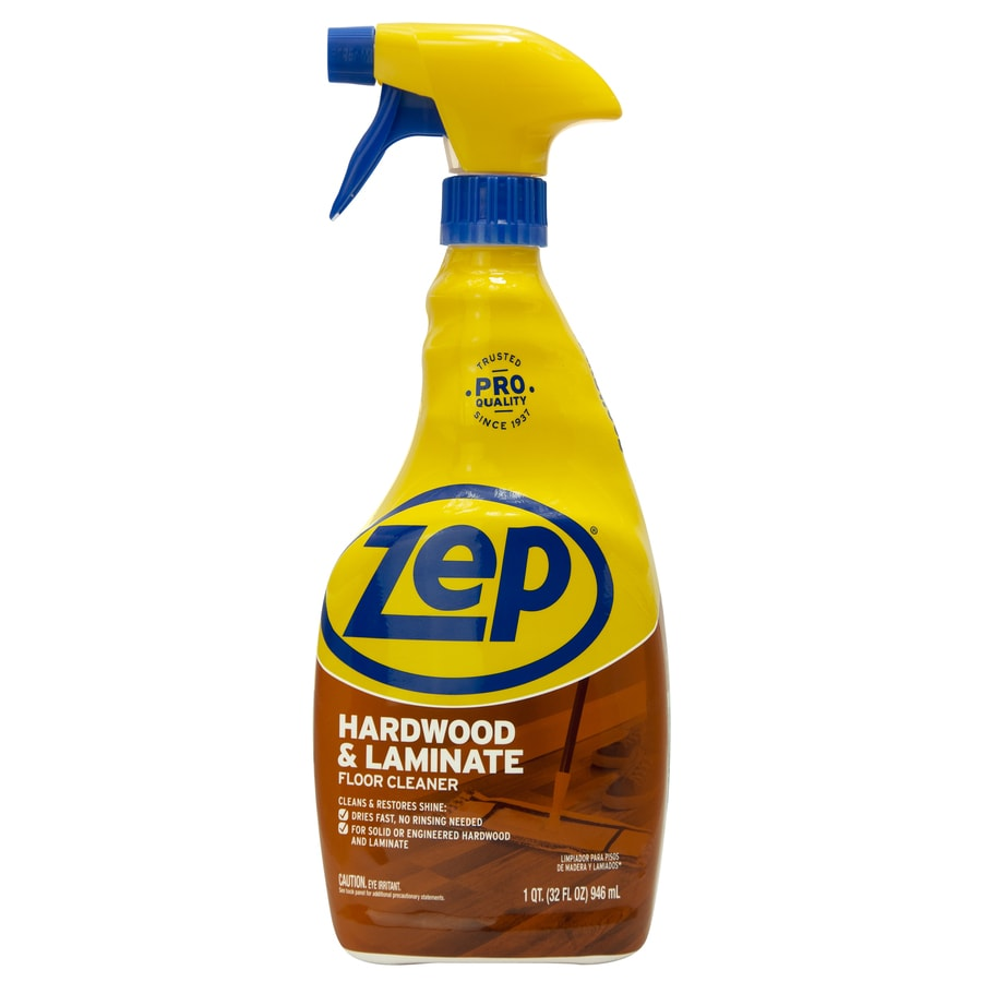 Zep Commercial Hardwood And Laminate 32 Fl Oz Floor Cleaner
