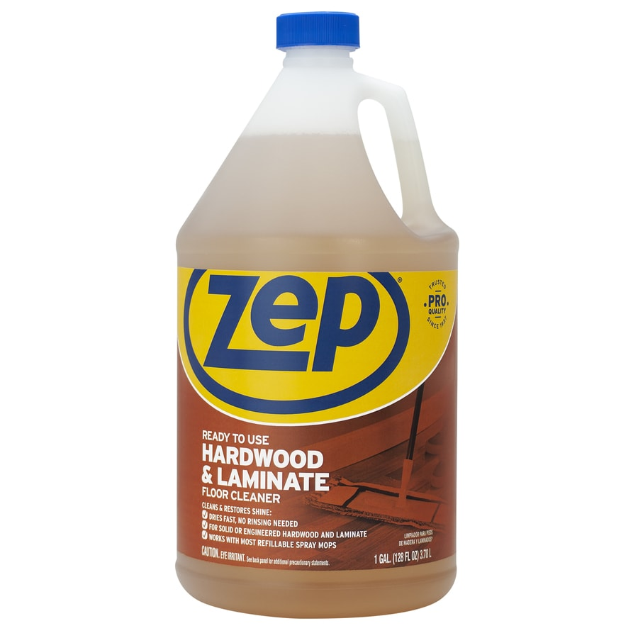 Shop zep commercial hardwood and laminate 128 fl oz for Hardwood floor cleaner