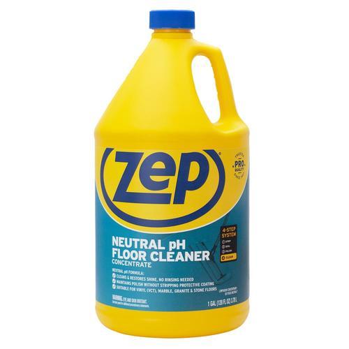 Zep Neutral Ph Floor Cleaner 128 Fl Oz Pour Bottle Liquid