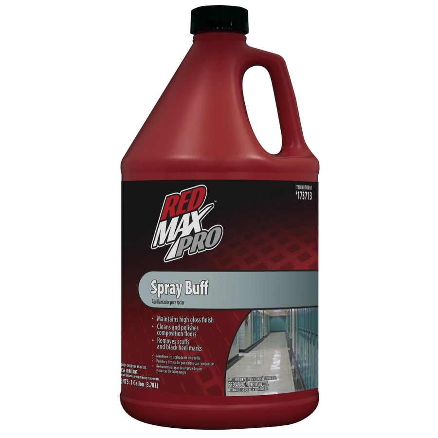 Red Max Gallon Spray Buff