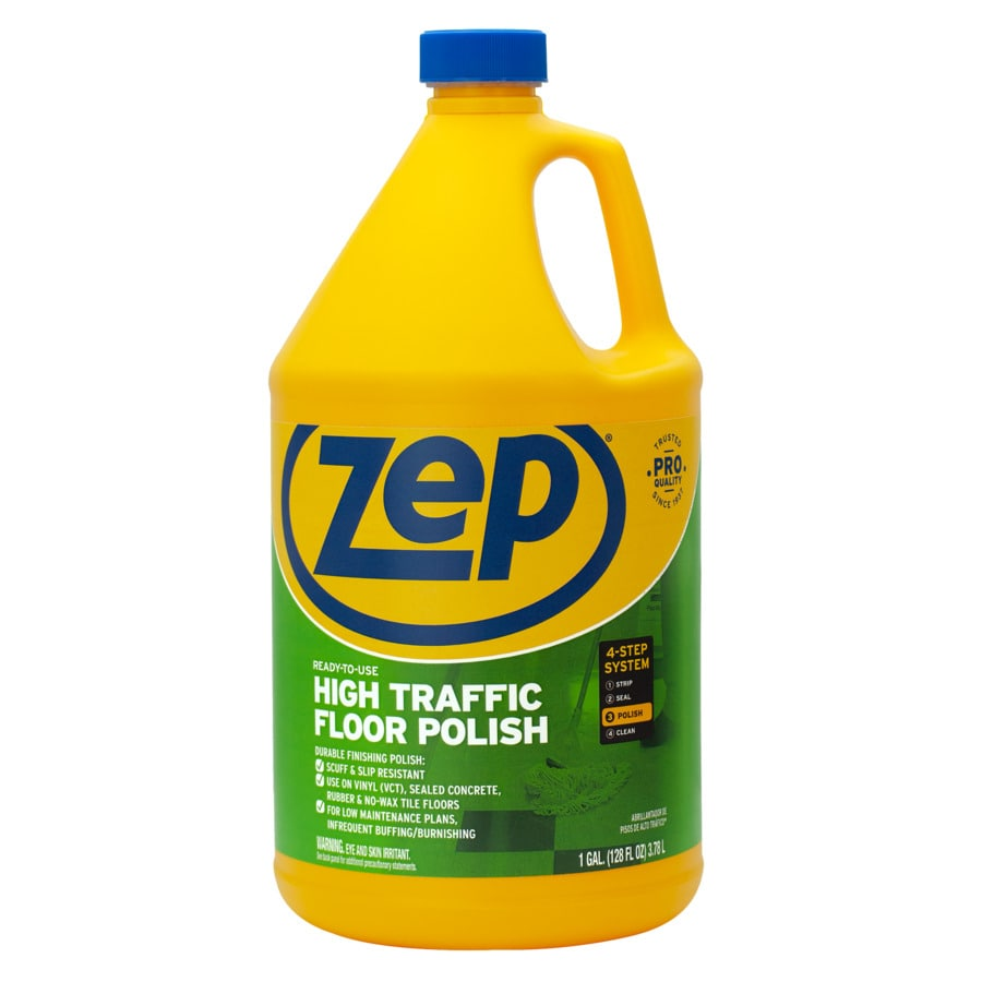 Zep Commercial High Traffic 128-oz Floor Polish