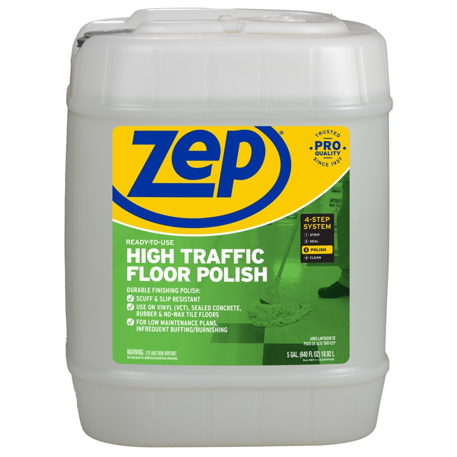 Zep High Traffic 5 Gallon Floor Polish At Lowes Com