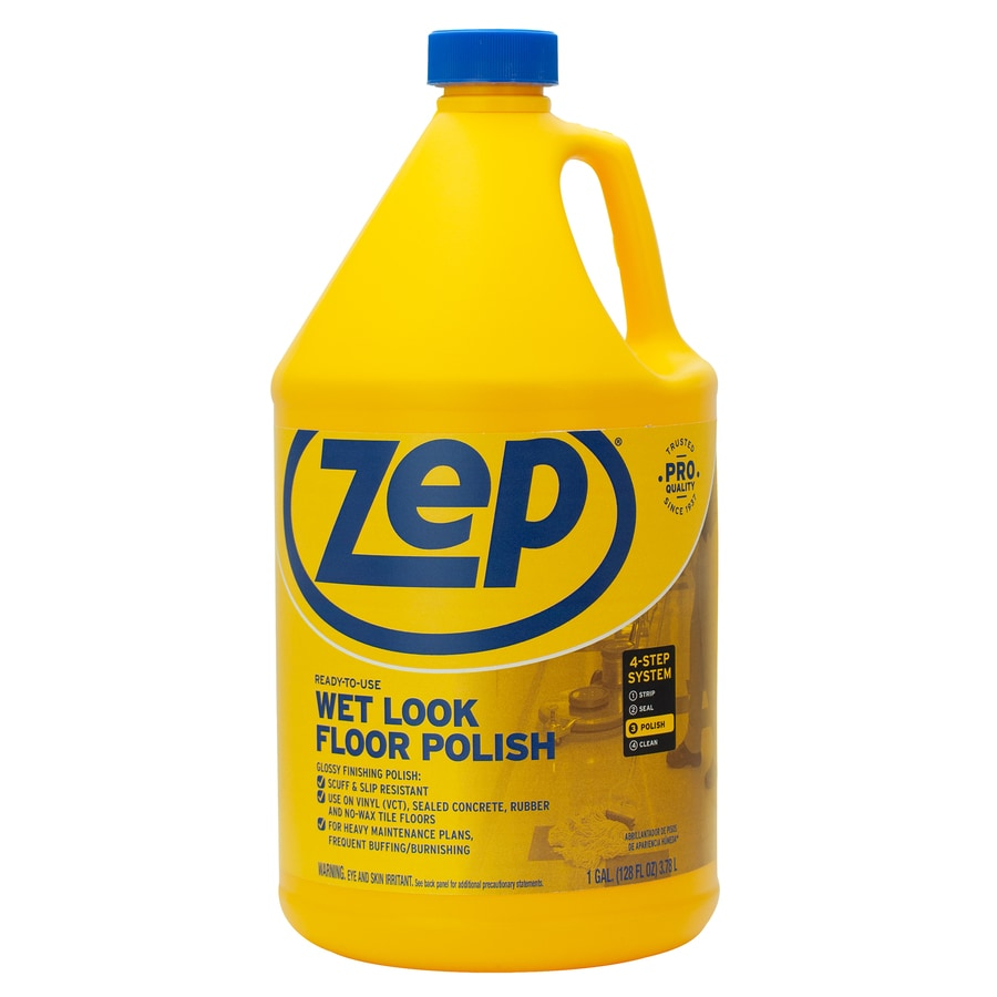 Shop Zep Commercial Wet Look 128 Oz Floor Polish At Lowes Com