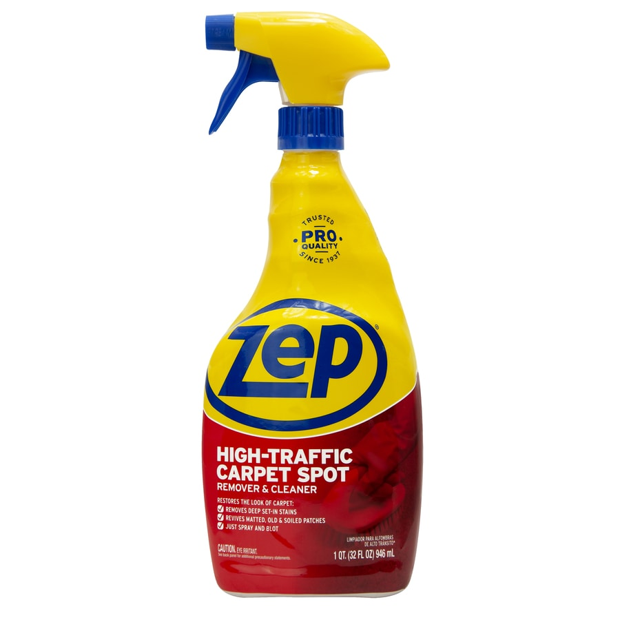 Zep High Traffic 32 Oz Carpet Cleaner At Lowes Com