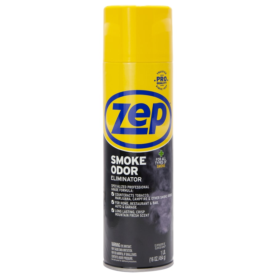 Shop zep commercial smoke odor eliminator air freshener for Smoke in bathroom without smell