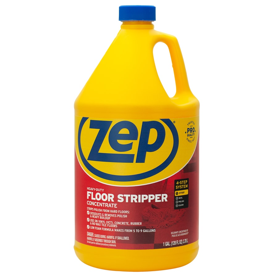 Zep Heavy Duty Stripper Concentrate 128 Fl Oz Vinyl Floor