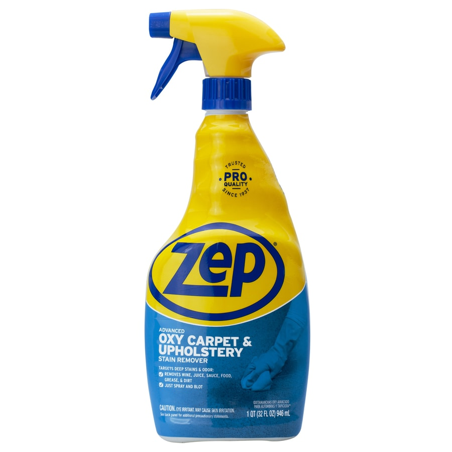 Zep Commercial Advanced Oxy Carpet and Upholstery Stain Remover 32-oz Carpet Cleaner