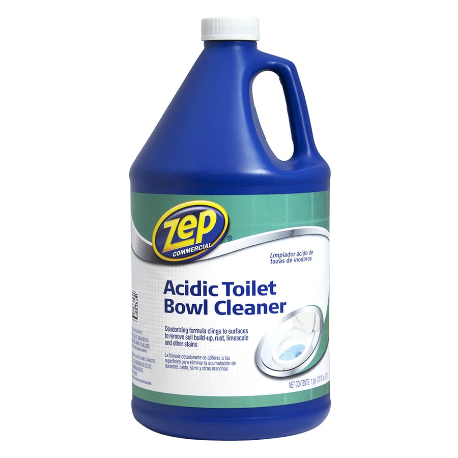 Zep Commercial Acidic 128 Fl Oz Toilet Bowl Cleaner At