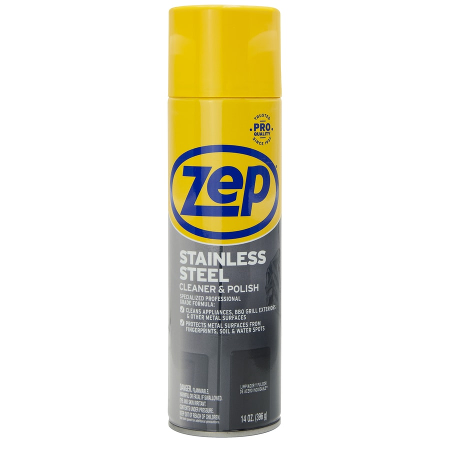 Zep 14 Oz Stainless Steel Cleaner At Lowes Com