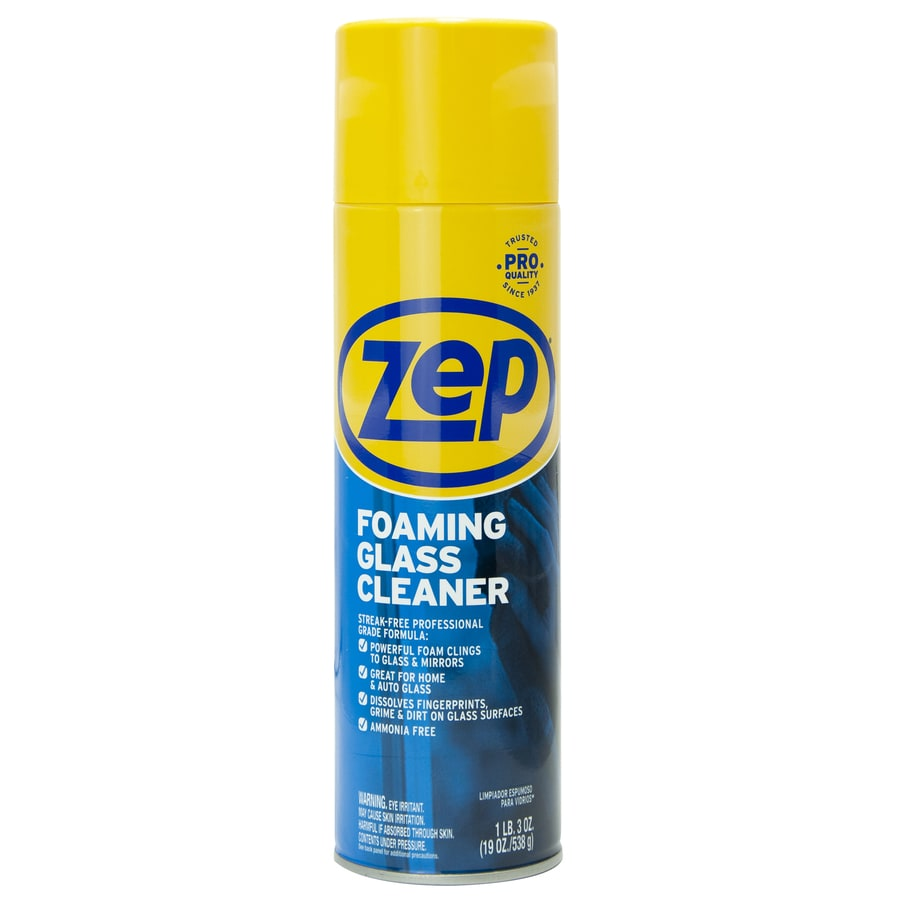 Zep Commercial Foaming 19 fl oz Glass Cleaner