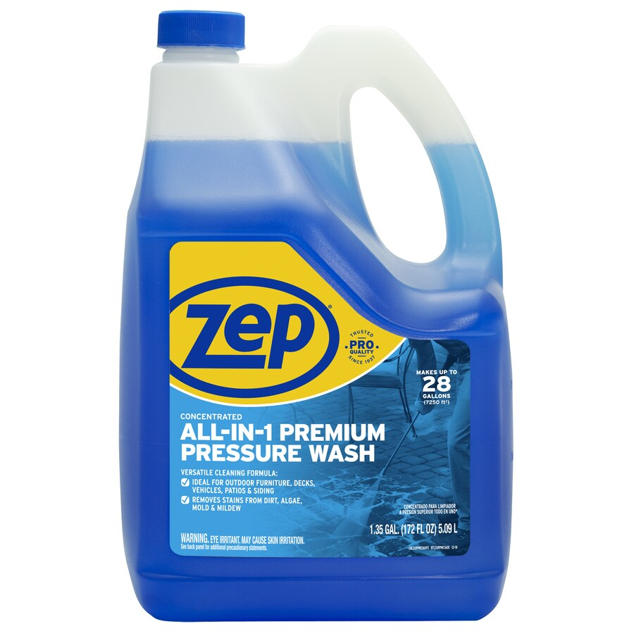 Zep 1 Gallon Multi Purpose Pressure Washer Cleaner At