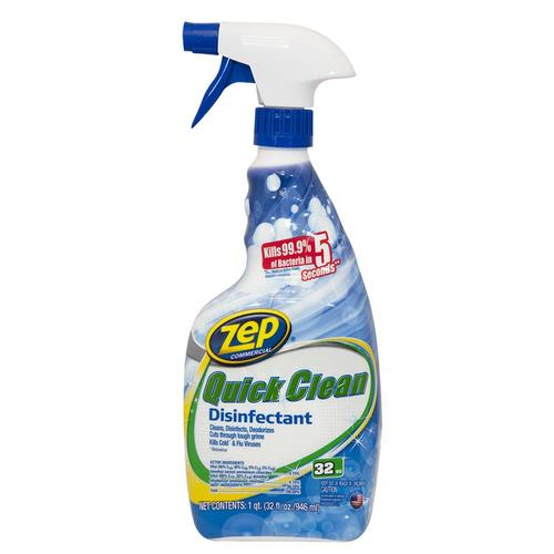 Zep Quick Clean Disinfectant 32-fl Oz Disinfectant All In
