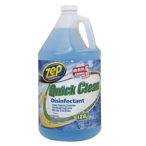 Zep Commercial Quick Clean Disinfectant 128 Fl Oz All