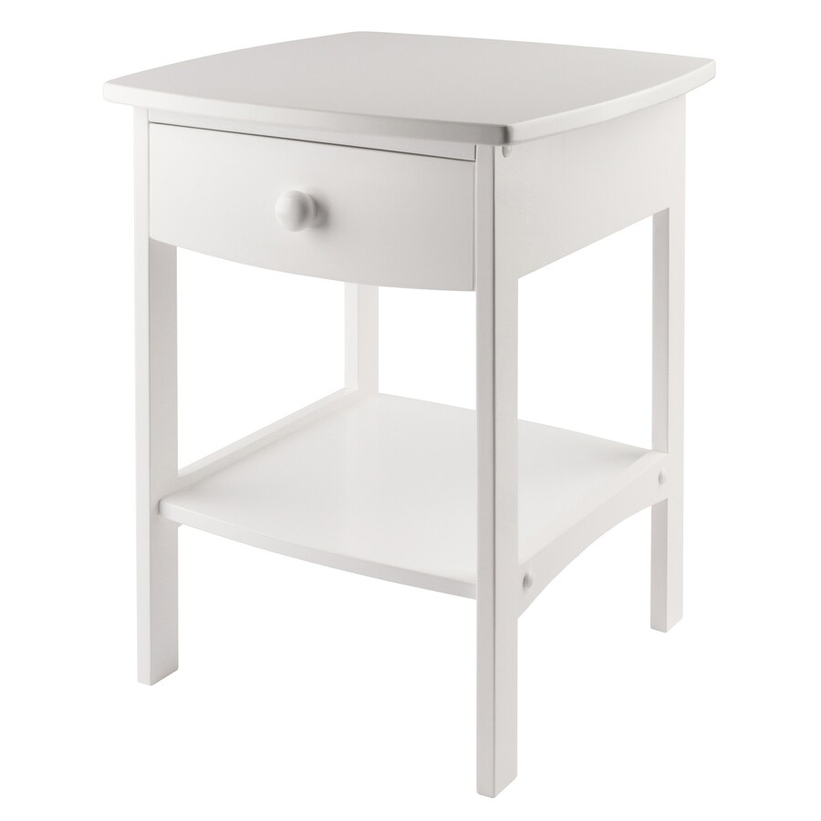 Winsome Wood White Composite End Table At Lowes.com