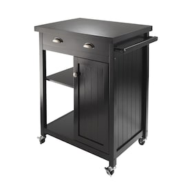 Timber Black Kitchen Islands & Carts at Lowes.com