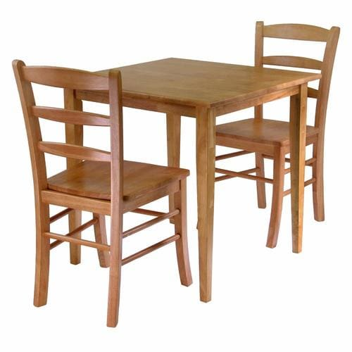 Groveland Light Oak Dining Set with Square Dining Table