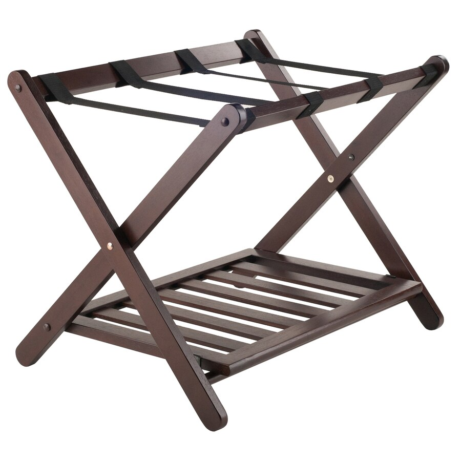 Winsome Wood Remy Cappuccino Wood Clothing Rack At Lowes Com