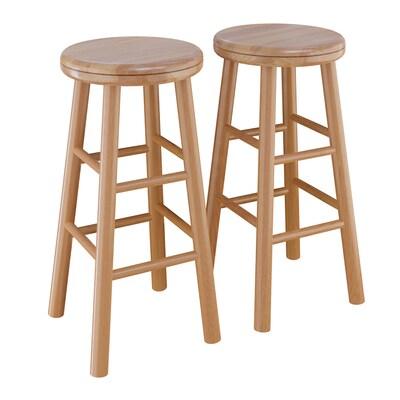 Sensational Set Of 2 Natural Counter Stool Uwap Interior Chair Design Uwaporg