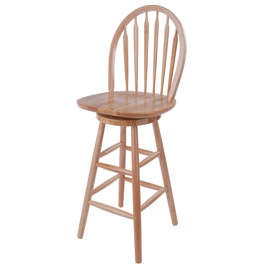 Winsome Wood Natural Counter Stool At Lowes Com