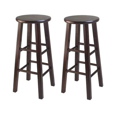 Awe Inspiring Set Of 2 Antique Walnut Bar Stool Unemploymentrelief Wooden Chair Designs For Living Room Unemploymentrelieforg