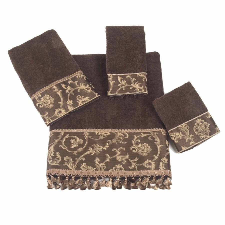 Avanti Mocha Cotton Bath Towel Set