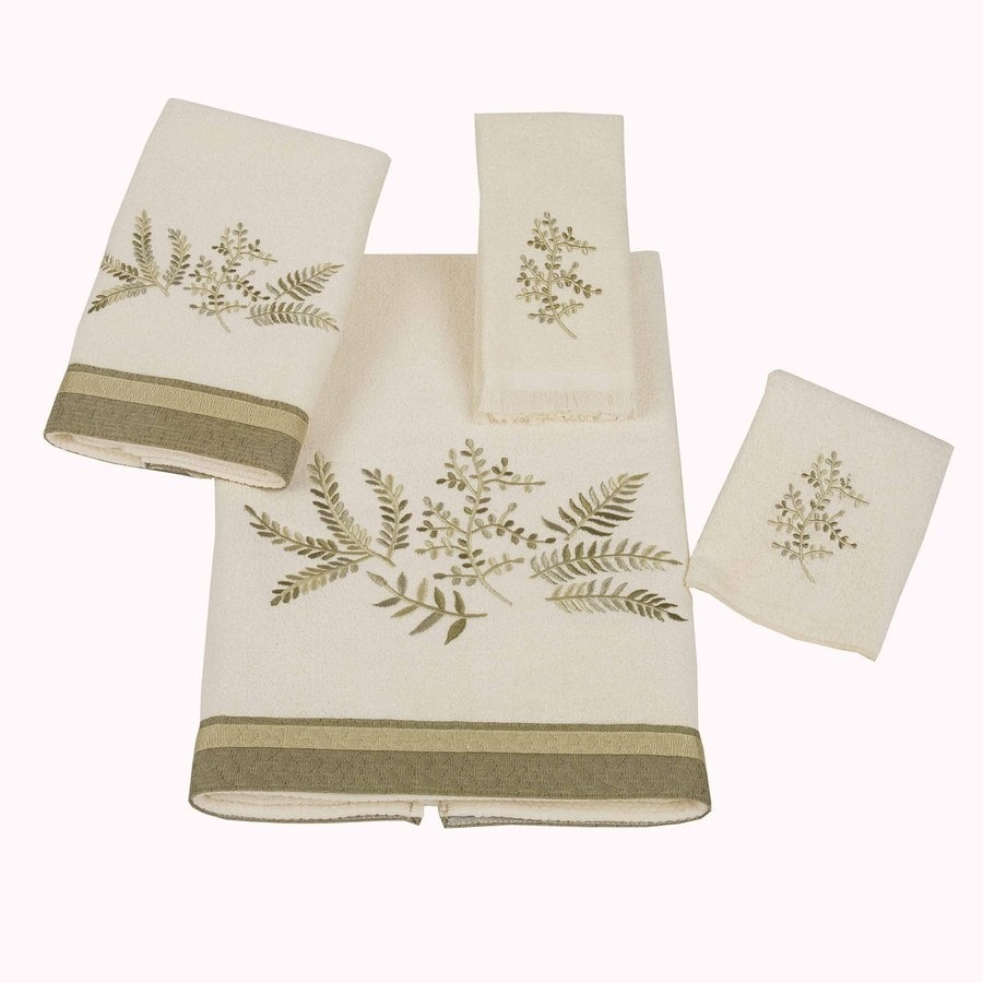 Avanti Ivory Cotton Bath Towel Set