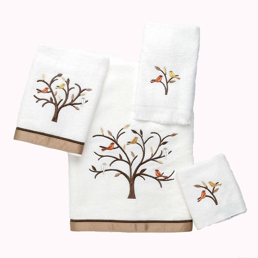 Avanti White Cotton Bath Towel Set