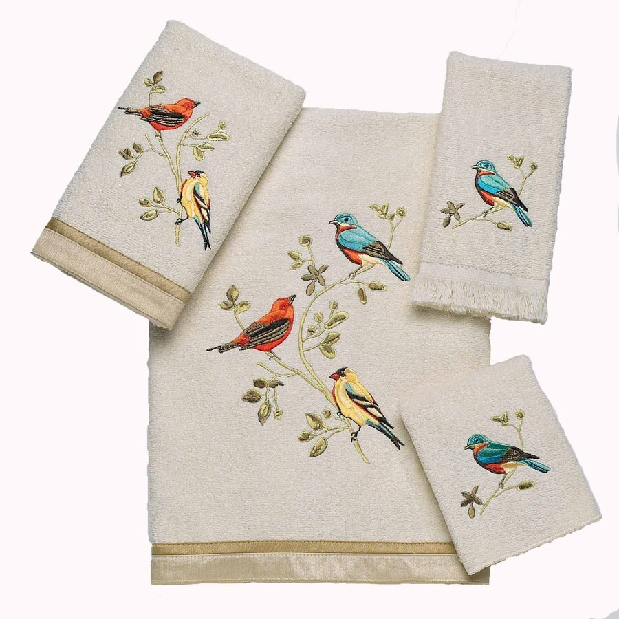Avanti Ivory Cotton Bath Towel Set