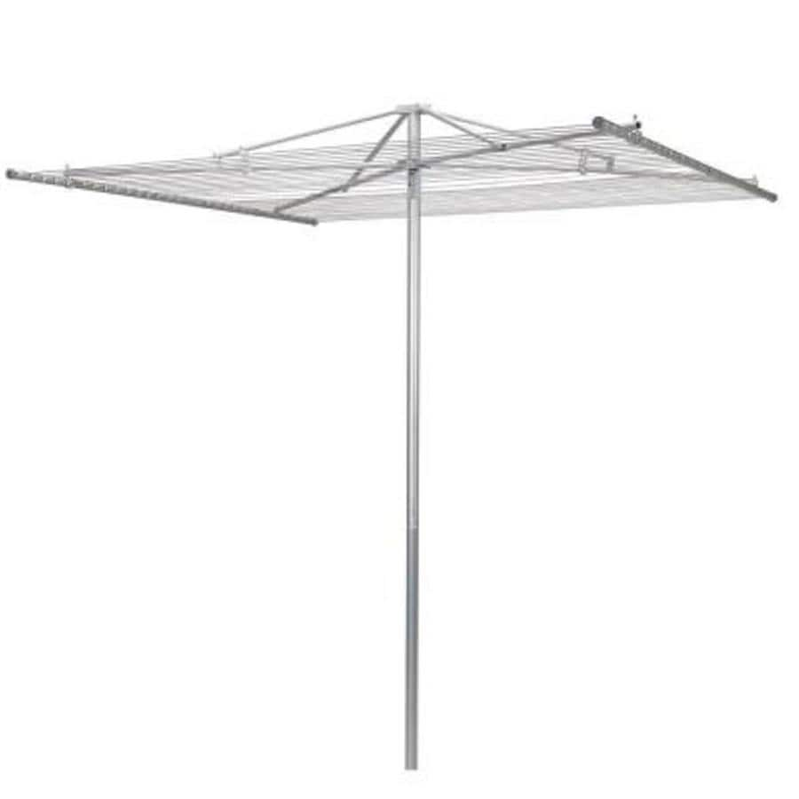 Household Essentials 1-Tier Metal Umbrella Clothesline