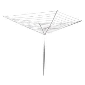 Household Essentials 12 Tier Metal Umbrella Clothesline