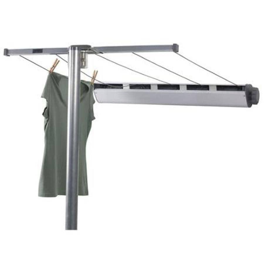 Shop Household Essentials 1 Tier Metal Clothesline Post At