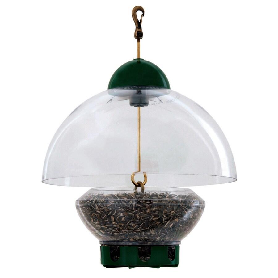 Droll Yankees Plastic Squirrel-Resistant Hopper Bird Feeder