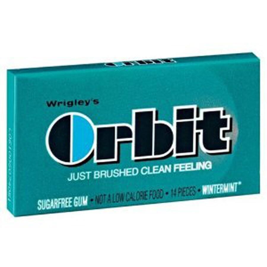 Wrigley 14-Stick Orbit Wintermint Chewing Gum