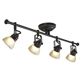 light oil rubbed bronze dimmable fixed track light kit. Black Bedroom Furniture Sets. Home Design Ideas