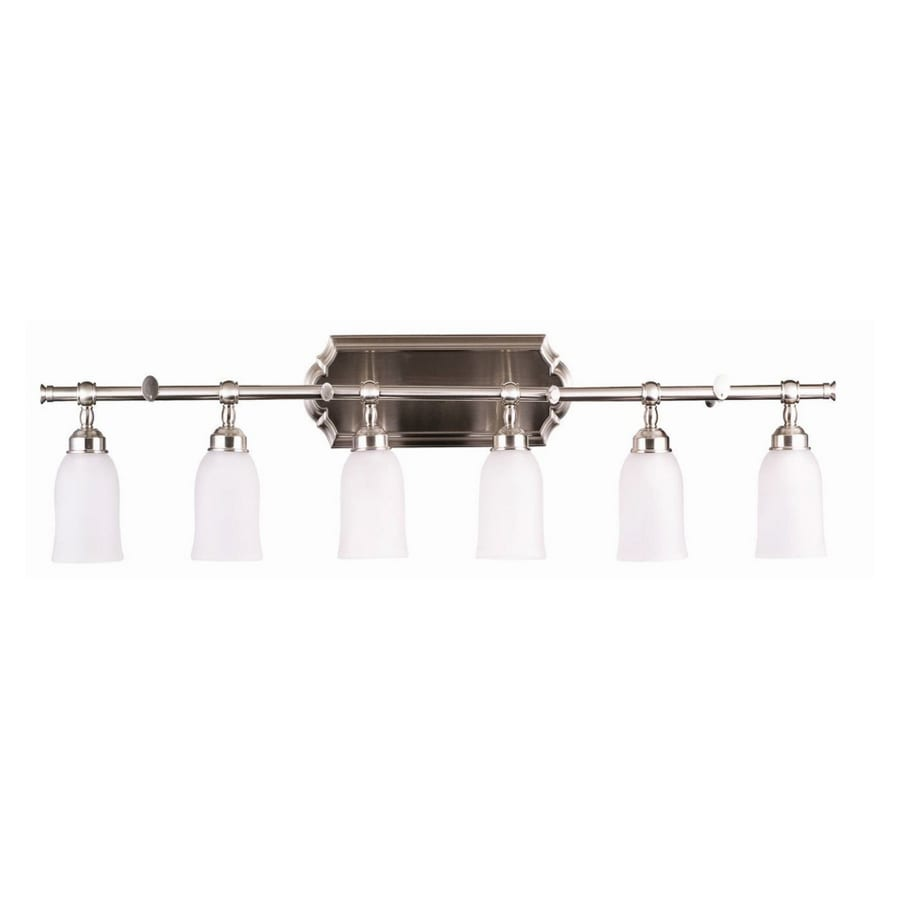 Portfolio 6 Light Brushed Nickel Bathroom Vanity