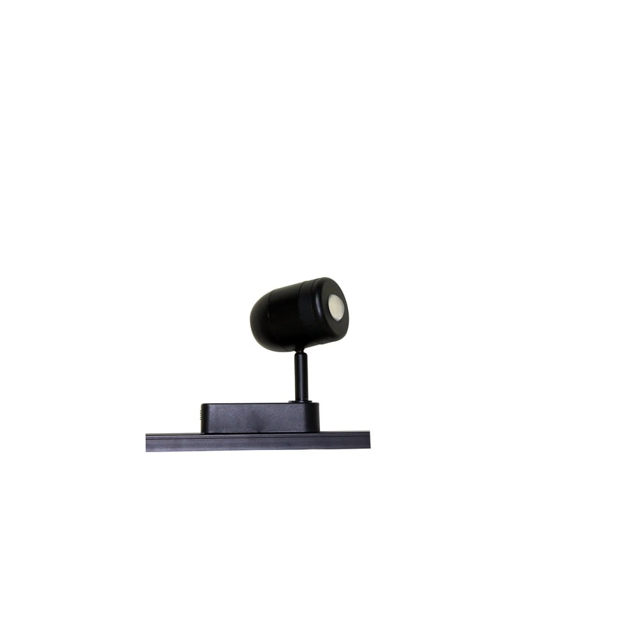 Portfolio 1-Light Black Roundback Linear Track Lighting Head