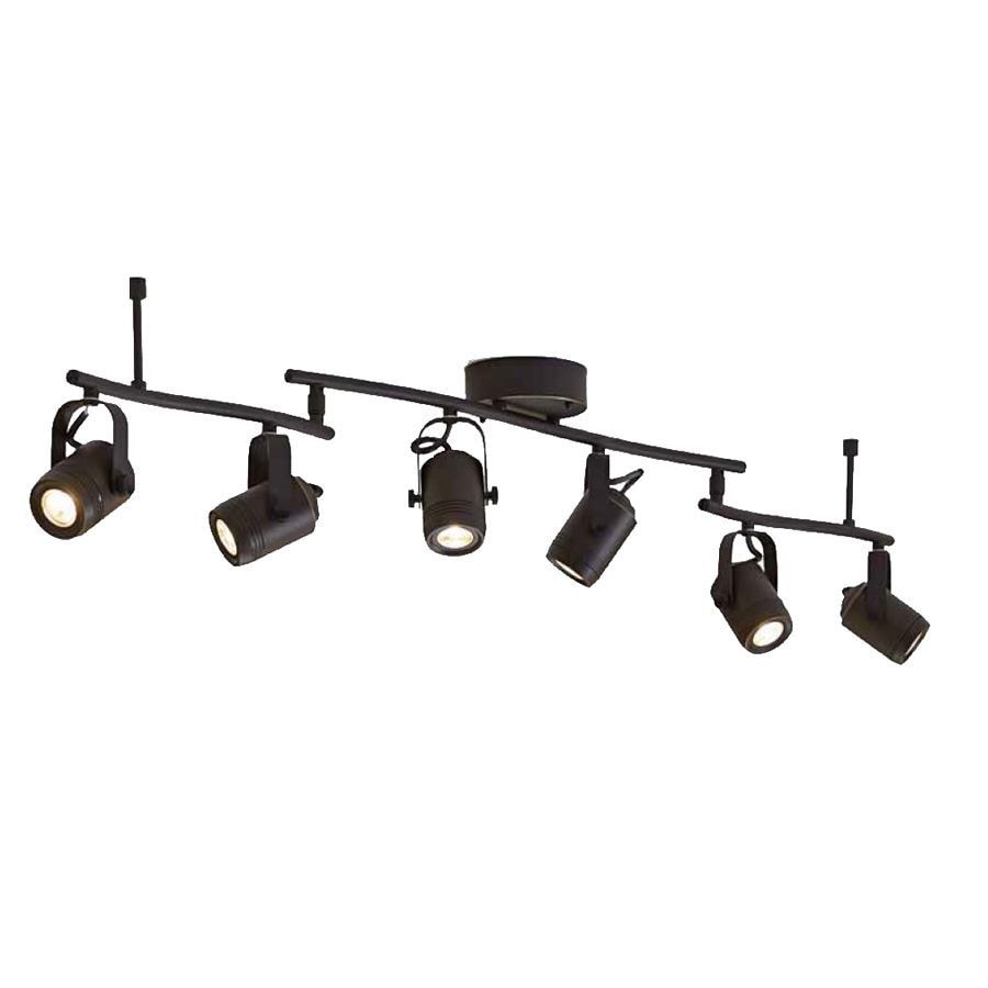 light 45 8 in bronze dimmable led track bar light kit fixed track